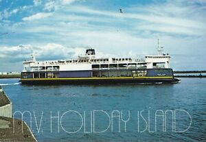 MV-HOLIDAY-ISLAND-Cape-Tormentine-NB-Borden-PEI-Ferry-Service-1971-97-Postcard