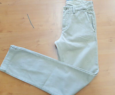 NEW VINCE USA MADE pants 98 cotton 2 elastane stretch TWILL SKINNY SLIM 28 29 30