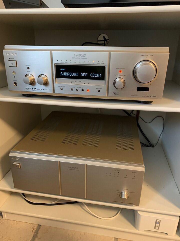 Forstærkersæt, Sony, TA-E/N9000ES