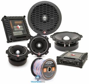 Remarkable Rockford Fosgate Pp6Tx Pro 6 5 Component Speakers Tweeters Wiring Cloud Brecesaoduqqnet