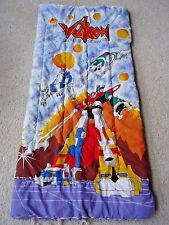 Voltron Defender of the Universe Sleeping Bag Vintage 1984