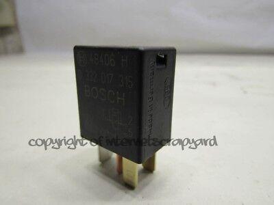 283-Honda Civic Accord CRV HRV Jazz 4-Pin Black Relay Bosch 0332017315 96706H