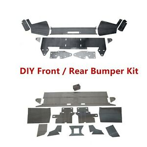 Details about DIY Front Winch Bumper or Rear Bumper Kit Metal for 1984-2001  Jeep Cherokee XJ