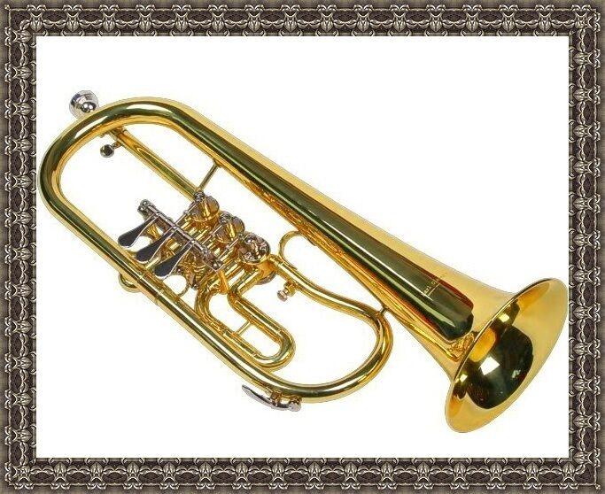 Bb Flügelhorn, schöner klang, gute Intonation mit Koffer