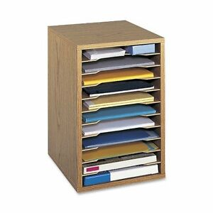 Storage Desktop Sorter Office Home Hardboard Organizers