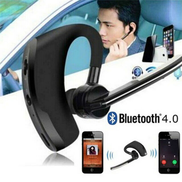 Bluetooth 4.1 Wireless Handsfree Stereo Earphone Headset For Samsung iPhone FBHN