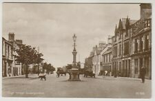 Ross & Cromarty postcard - High Street, Invergordon - RP