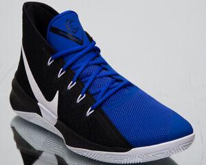 89881b8feb690 Nike Zoom Evidence III New Men's Basketball Shoes Black White Blue ...