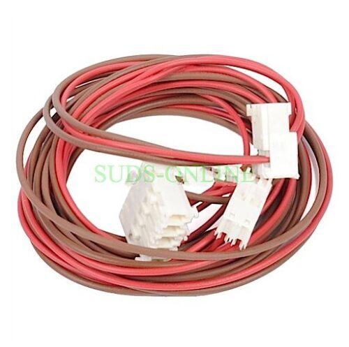 Machine à laver INDESIT iwc8123uk Porte Interlock lock /& pompe vidange câblage associé