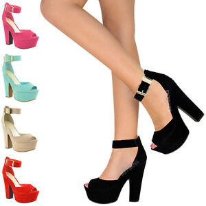 LADIES-WOMENS-HIGH-HEEL-SUMMER-WEDGES-SANDALS-CHUNKY-PLATFORM-OPE-TOE-SHOES-SIZE