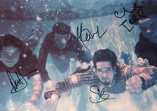 """Jars of Clay REAL hand SIGNED 8x11"""" early band promo photo by all 4 #2"""