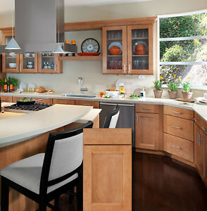Charmant Details About KITCHEN CABINETS All WOOD   ASSEMBLED, FREE SHIPPING,  MICHIGAN ONLY