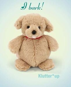 "Bearington Bear Plush Doll STOUT SPROUTS-SKIPPE<wbr/>R Dog #310041 6"" High NWT"