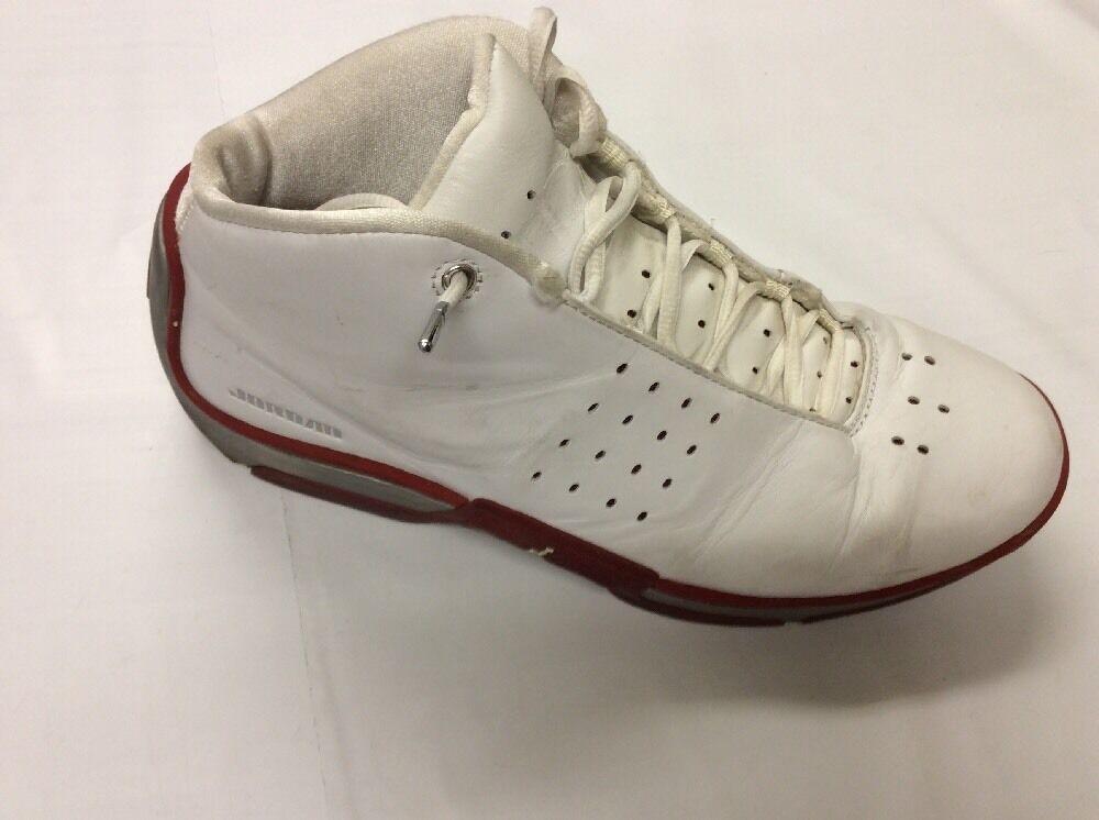 Nike   Jumpman equipo FBI   blancooo-plata-rojo   Para Hombre 10.5