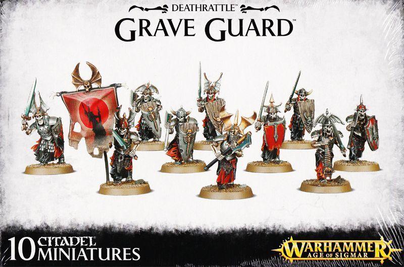 incredibili sconti Deathrattle Grave Guardia giocos lavoronegozio Warhammer Age Age Age Of Sigmar Skelettkrieger  nuovo sadico