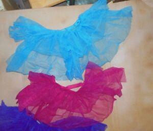 NWOT-3-Layer-Ruffled-Organdy-Backskirt-Bustle-Latin-Feel-3-colors-4911