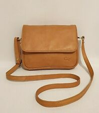 LADIES LEATHER CROSS BODY MESSENGER BAG PURSE BROWN//RED//GREY L3768