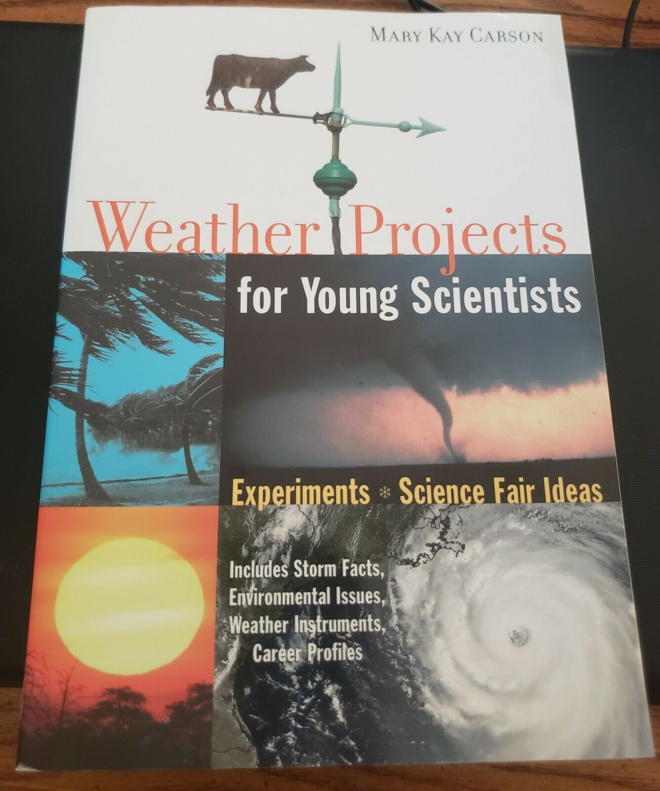 Weather Projects: Experiments and Science Fair Ideas by Mary Kay Carson 2