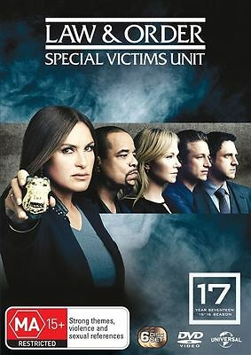 Law And Order - Special Victims Unit : Season 17 (DVD, 2016, 6-Disc Set) R/4