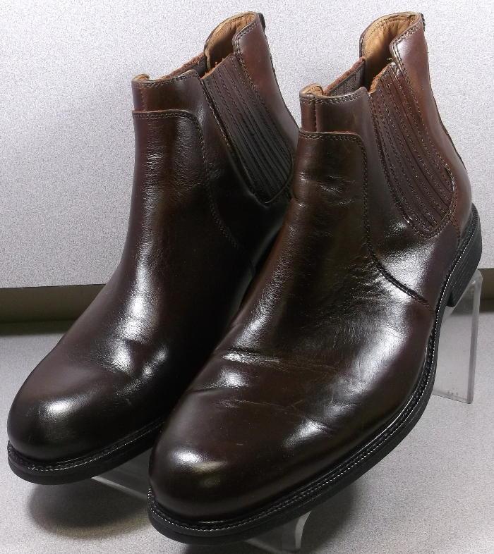 208690 pfbt 40 Zapatos de hombre M Marrón Antiguo Bota De Cuero Johnston & Murphy