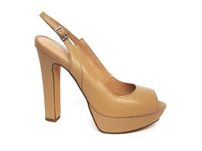 Liu Jo sandalo donna airone open toe art. S18013 P0055 col. nude