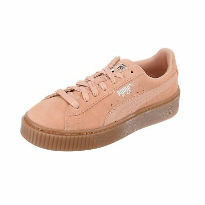 Puma Suede Platform Animal 365109 05 Women's Sports Shoes Trainers | eBay
