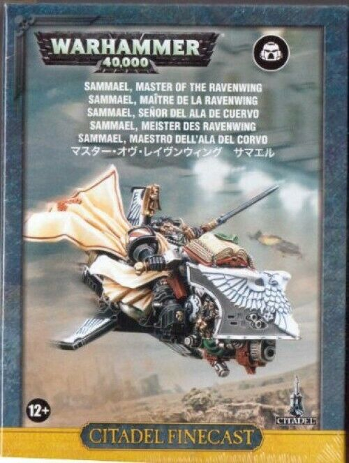Warhammer 40,000 gran maestro De Ravenwing sabueso en miniatura