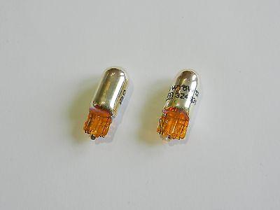 20x t10 w5w 5 W 12 V ampoule lampe Glassockel Lampe Clignotant Orange Jaune