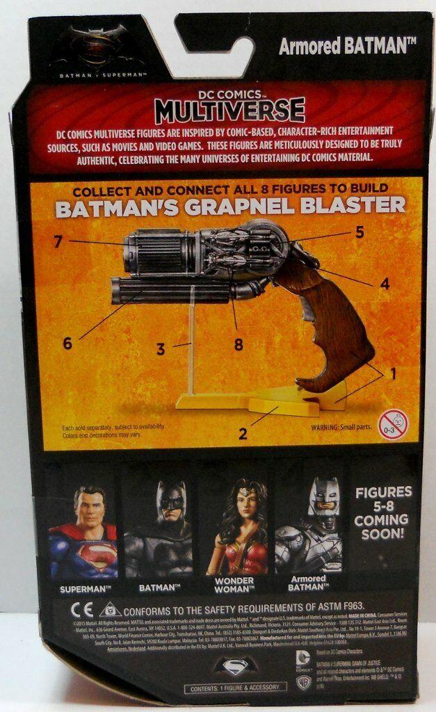 FULL SET BATMAN VS SUPERMAN FIGURES NEW CONDITION RARE