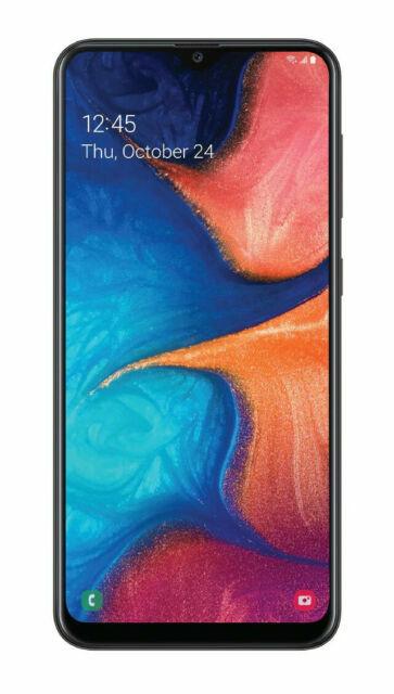 Samsung Galaxy A20 Sm A205u 32 Gb Black Unlocked Single Sim For Sale Online Ebay