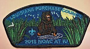 COMANCHE-OA-LODGE-254-BSA-LOUISIANA-PURCHASE-LA-NOAC-2018-BEAR-CSP-ONLY-100-MADE
