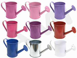 Image Is Loading Metal Mini Coloured Watering Cans Wedding Favours Party