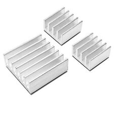 Aluminum Heatsink x3pcs Protect OverClocking Raspberry Pi 2 & Model B, B+. A+ TS
