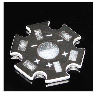 50 pcs 1W 3W 5W High Power LED Universal Aluminum Plate Heat sink LED