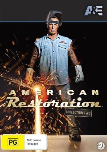 1 of 1 - American Restoration : Collection 2 (DVD, 2013, 3-Disc Set) Region 4