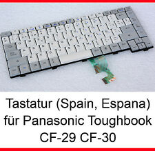 Teclado español Panasonic Toughbook cf-29 cf-30 Keyboard Spain Espana nuevo New