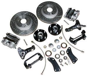 "GM 2/"" Drop Spindles Chevelle Camaro Nova A F X Body Disc Brake Spindle"
