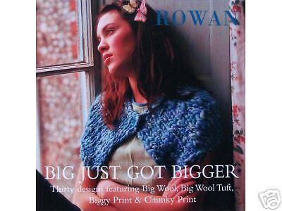 ROWAN Big Just Got Bigger Knitting Book