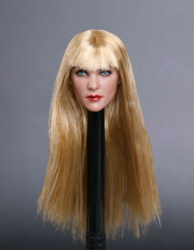 "1//6 Female Head Sculpt GC019 pour 12/"" Figurine Phicen Hot Toys Verycool KUMIK ❶ USA ❶"