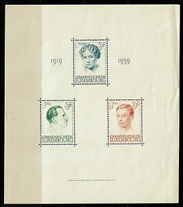 Luxembourg-Sc-B217-neuf-sans-charniere-visible-creasing-Lot-040917