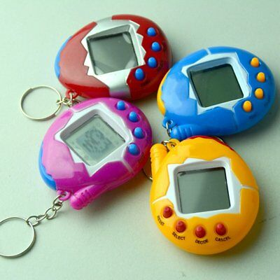 Pet Handheld Digital Game Electronic Retro 49 Pets in 1 Virtual Cyber E-Pet Toy