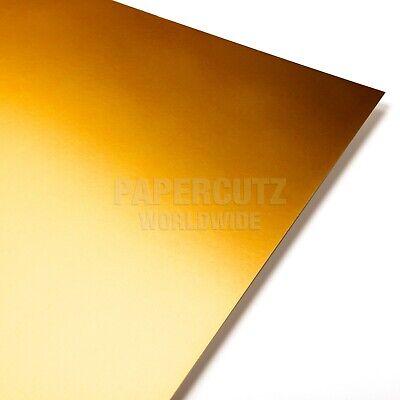 GOLD MIRROR MIRRI A4 CRAFTING CARD 240GSM *** FREEPOST ***