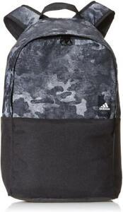 New-adidas-Classic-Backpack-Black-Grey-Camo-gym-school-college-laptop-rucksack