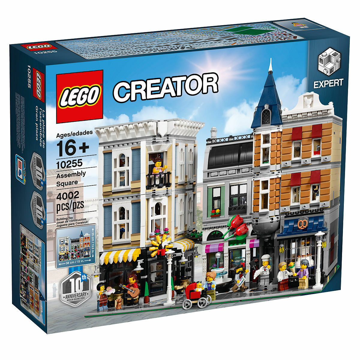 NEW LEGO Creator Assembly Square SET 10255 - 4000+ PIECES