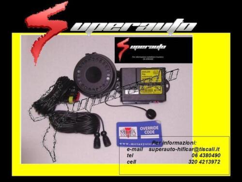 ANTIFURTO ALLARME AUTO METASYSTEM FIAT Ducato/> 2006 SIRENA wfr EASYCAN DIGITALE