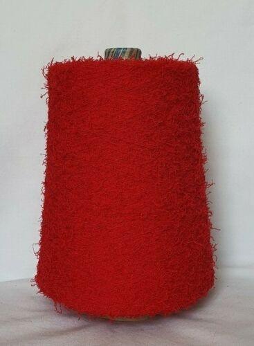 Flecos Hilados Algodón rojo nm 7,5 punto lana Garn kone Ruffle 3k3