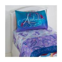 Disney Princess Little Mermaid Ariel  Swimming Beauty  Twin Sheet Set 3 Piece on sale