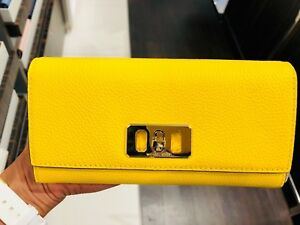 86ba4bf4d53d Image is loading NWT-MICHAEL-KORS-Karson-Pebbled-Leather-Wallet-BRAND-