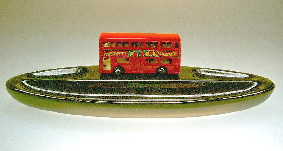 MATCHBOX sf Nº 17b the Londres rouge sur céramique céramique céramique bol très rare! | Nombreux Dans La Variété  | Supérieure  2db805