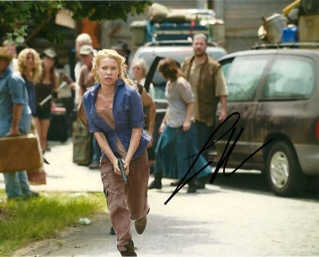 Walking Dead Laurie Holden Autographed Signed 8x10 Photo COA Proof